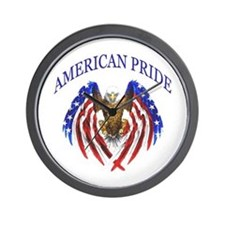 American Pride Eagle Wall Clock