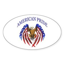American Pride Eagle Decal