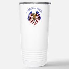 American Pride Eagle Stainless Steel Travel Mug