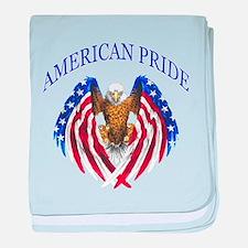 American Pride Eagle baby blanket