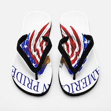 American Pride Eagle Flip Flops