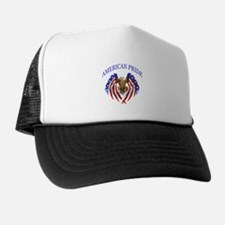 American Pride Eagle Trucker Hat
