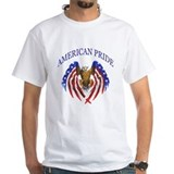 Patriotic Mens White T-shirts