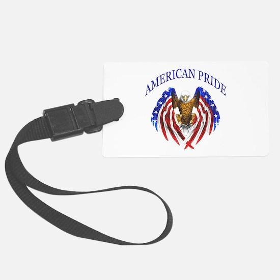 American Pride Eagle Luggage Tag