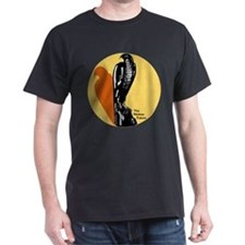 Maltese_Falcon_With_Shadow_Text T-Shirt