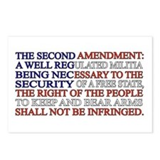 Second Amendment Flag Postcards (Package of 8)