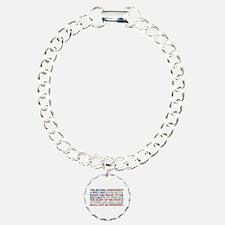 Second Amendment Flag Bracelet