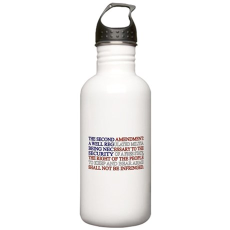 Second Amendment Flag Stainless Water Bottle 1.0L