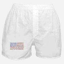Second Amendment Flag Boxer Shorts