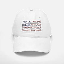 Second Amendment Flag Baseball Baseball Cap
