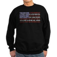 Second Amendment Flag Sweatshirt