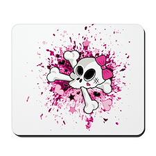 Girlie Skull Mousepad