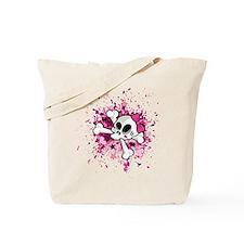 Girlie Skull Tote Bag