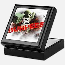 B is for Burpees Keepsake Box