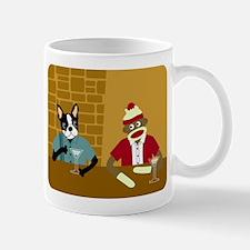 Boston Terrier & Sock Monkey Coffee Mug