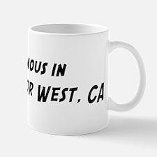Famous in Lake Almanor West Mug