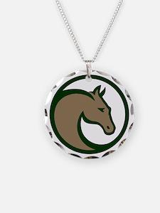 Circle F logo Necklace