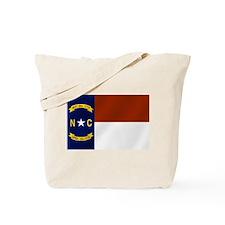North Carolina Flag Tote Bag