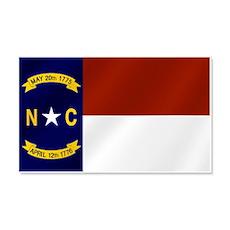 North Carolina Flag Wall Decal
