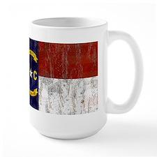 North Carolina Retro Flag Mug