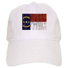 North Carolina Retro Flag Baseball Cap