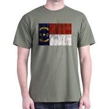 North Carolina Retro Flag T-Shirt