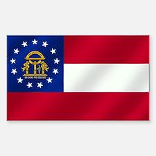 Georgia State Flag Decal