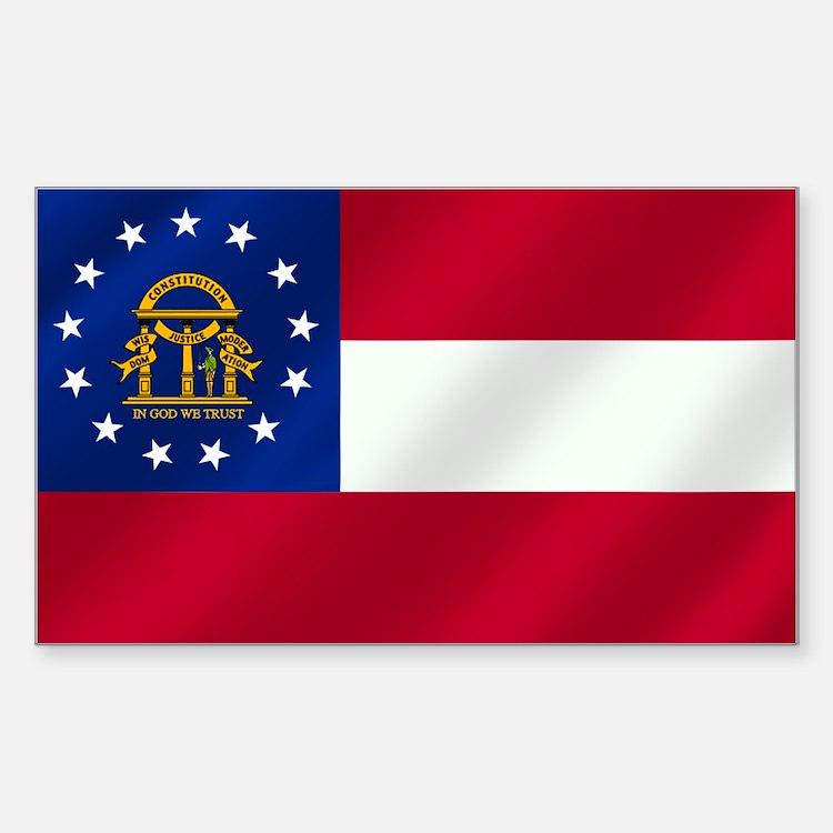 georgia state flag - photo #22