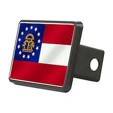 Georgia State Flag Hitch Cover