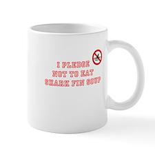 PLEDGE NOT TO EAT SHARK FIN Mug