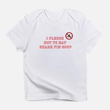 PLEDGE NOT TO EAT SHARK FIN Infant T-Shirt
