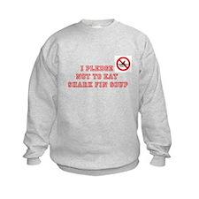 PLEDGE NOT TO EAT SHARK FIN Sweatshirt