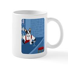 Boston Terrier Martini Bartender Coffee Small Mugs