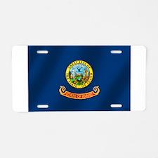 Idaho State Flag Aluminum License Plate