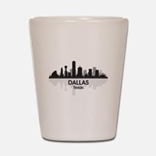 Dallas Skyline Shot Glass