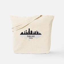 Dallas Skyline Tote Bag