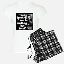 Goldman Love Quote 2 Pajamas