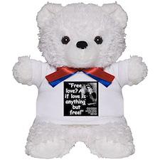 Goldman Love Quote 2 Teddy Bear