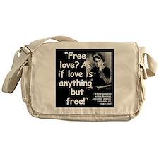 Goldman Love Quote 2 Messenger Bag