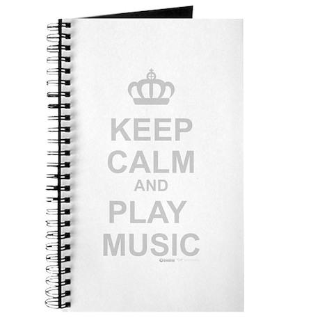 Keep Calm And Play Music Journal