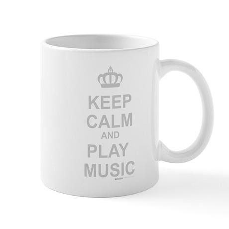 Keep Calm And Play Music Mug