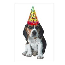 Beagle Birthday Postcards (Package of 8)