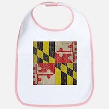 Vintage Maryland Flag Bib