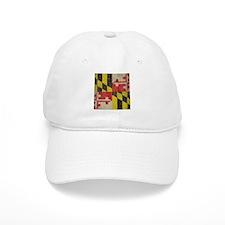 Vintage Maryland Flag Baseball Cap