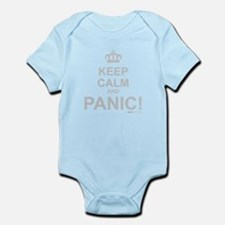 Keep Calm And Panic Infant Bodysuit