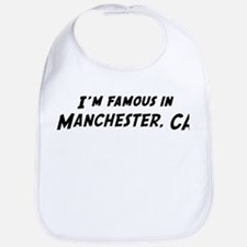 Famous in Manchester Bib