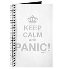 Keep Calm And Panic Journal