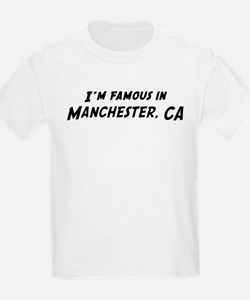 Famous in Manchester Kids T-Shirt