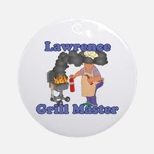 Grill Master Lawrence Ornament (Round)