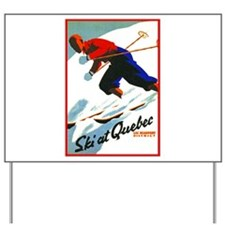 Canada Travel Poster 11 Yard Sign